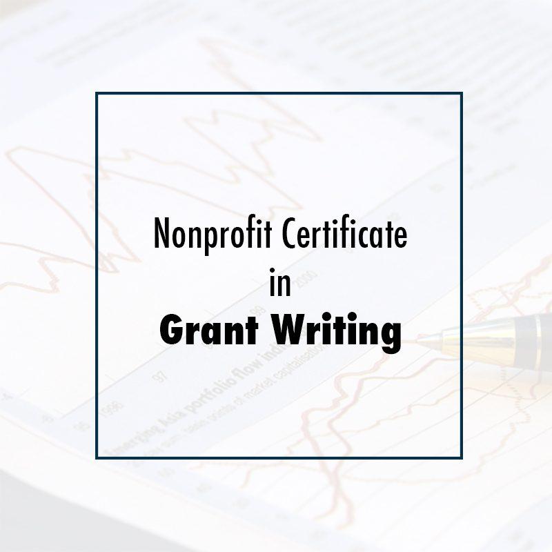 Nonprofit Certificate In Grant Writing Csea Institute
